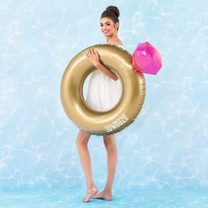 Diamond Ring Inflatable Pool Float image