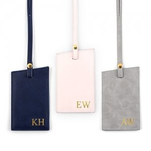Faux Leather Luggage Tag (3 Color Options) image