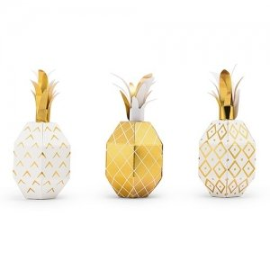 Tropical Pineapple Party Favor Boxes image