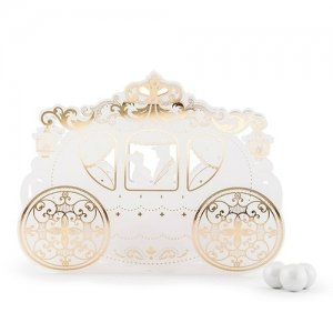 Cinderella Wedding Carriage Favor Box image