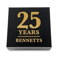 Anniversary Years Premium Gift Box - White or Black
