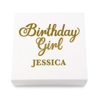Birthday Girl Premium Gift Box - White or Black