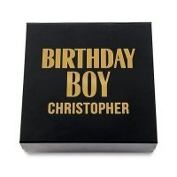 Birthday Boy Premium Gift Box - White or Black