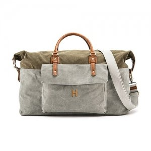 Personalized Canvas Weekender Travel Bag image