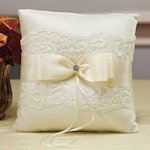 Beverly Clark French Lace Ring Bearer Pillow