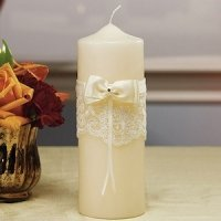 Beverly Clark French Lace Unity Candle