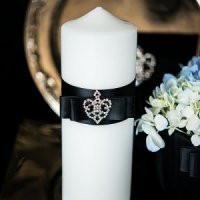 Beverly Clark Crowned Jewel Unity Candle (3 Colors)