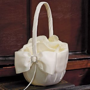 Beverly Clark Duchess Collection Flower Girl Basket image