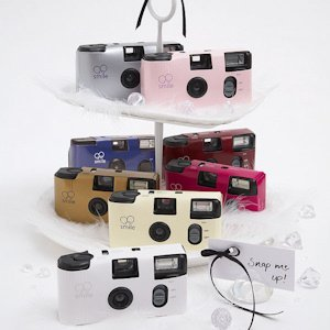 Solid Color Disposable Cameras for Weddings (Many Colors) image