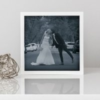 Shadow Box Photo Frame - White or Black