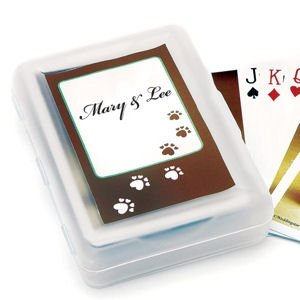 Personalized Wedding Hounds Stickers (12 Pack) image