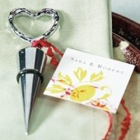Heart Shaped Wine Stopper Party Favors