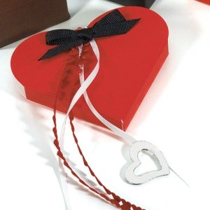 Red Favor Boxes (Set of 10) image
