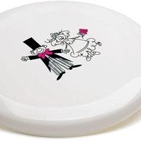 Bride & Groom Frisbee Favor