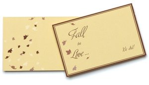 Fall Theme Place Cards/Hang Tags (Pack of 12) image