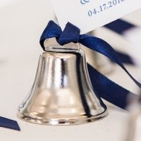 Bulk Mini Wedding Bells - Silver or Gold (Box of 24)