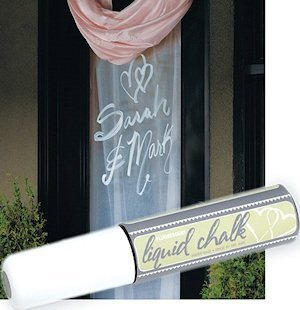 Liquid Chalk Wedding Marker image