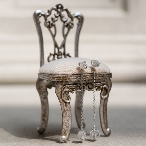 Miniature Chair Jewelry Holder image