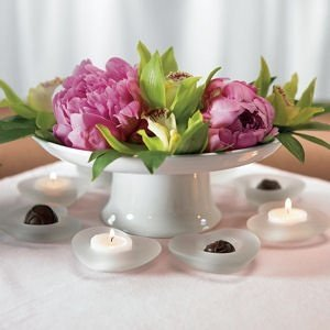 Frosted Glass Heart Candle Holders (Set of 2) image