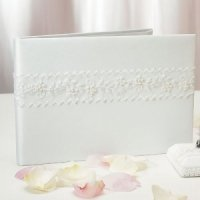 Whimsical Art Traditional Guest Book