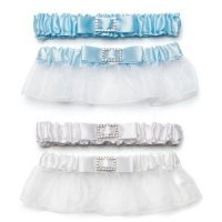 Classic Elegance Two Piece Garter Set with Buckle