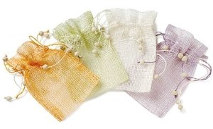 Mesh Drawstring Pouches (6 Pack) image