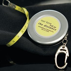 Measuring Tape Keychain image
