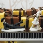 Western Rodeo Mix and Match Wedding Cake Toppers
