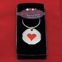 Card Suits Casino Favor Key Chains (Set of 6)