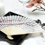Cherry Blossom Hand Fans (Set of 6)
