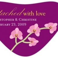 Personalized Attached With Love Stickers