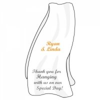 Personalized Beach Towel Stickers