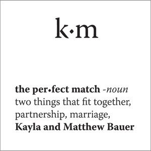 Personalized 'The Perfect Match' Hang Tags (Set of 20) image