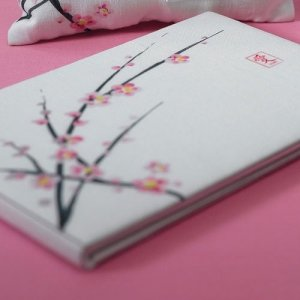 Cherry Blossom Themed Guest Book image