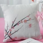 Cherry Blossom Themed Ring Pillow