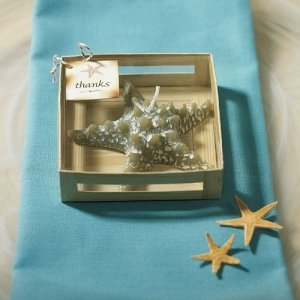 Gift Boxed Mini Starfish-Shaped Candle image