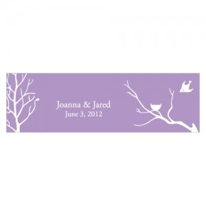 Bird with Nest Silhouette Card (Set of 24) image
