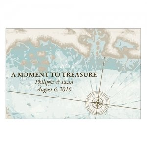 Personalized 'A Moment To Treasure' Favor Card (Set of 12) image