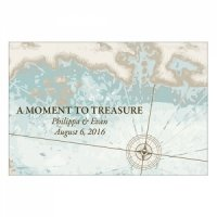 Personalized 'A Moment To Treasure' Favor Card (Set of 12)