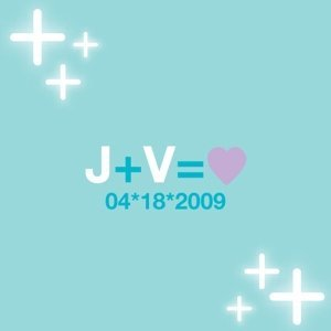 Personalized Equation Favor Card (Set of 20) image