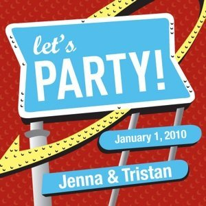 Personalized Let's Party Cards (Set of 20) image