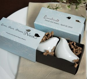 Gift Boxed Love Bird Salt & Pepper Shaker Set image