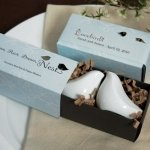 Gift Boxed Love Bird Salt & Pepper Shaker Set