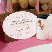 Wedding Memories Camera Table Signs (Set of 4)