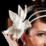 Single Champagne Floral Hair Accessory