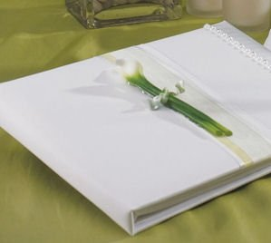 Calla Lily Traditional Guest Book image