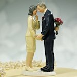 Still in Love Mature Couple Cake Topper