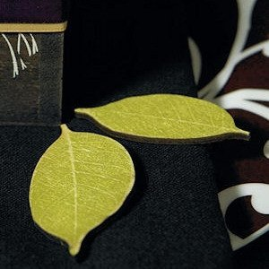 Wooden Die Cut Willow Leaves (Set of 12) image
