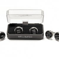 Wedding Novelty Cuff Links (Groom - Best Man - Groomsman)