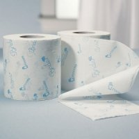 Something Blue Bride and Groom Toilet Paper